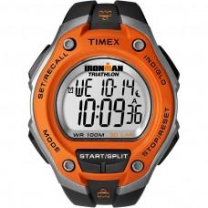 Timex Mens Ironman Triathlon Digital Watch - Black/Orange (Model No. T5K529)