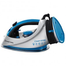 Russell Hobbs Easy Store Wrap and Clip Iron 2400 W - White and Blue (18616)