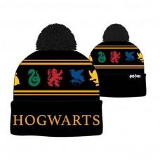 Harry Potter Hogwarts Pom Beanie Hat 3-Pack Multi-colour (KC4BJYHPT - 3PK)