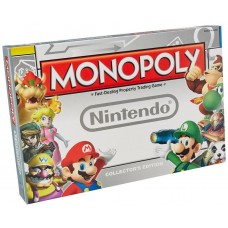 Nintendo Super Mario Monopoly Family Board Game Age 8+