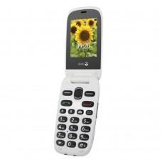 Doro 6030 Flip SIM-Free Smartphone - Graphite/White - Bluetooth