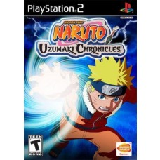 Naruto Uzumaki Chronicles PS2 Game