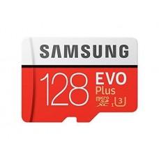 Samsung EVO Plus 128 GB Micro SD Class 10 Memory Card with Adaptor
