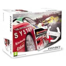 Ferrari Challenge with Steering Wheel Nintendo Wii Game