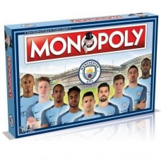 Monopoly Manchester City F.C 2017  Edition - Board Game
