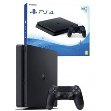 Sony PlayStation 4 500GB PS4 Console - Black