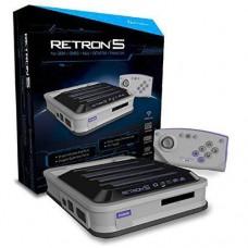 Hyperkin RetroN 5 Retro Video Gaming System 5-in-1 Grey