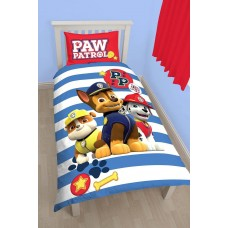 Paw Patrol Pawsome Single Duvet Cover and Pillow Case - Multi-colour