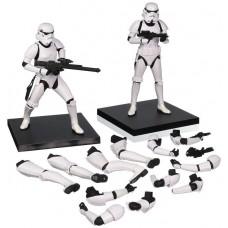 Star Wars StormTrooper Art FX statue Figures - Twin Pack