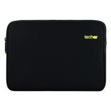 Techair Z Series Clam Styled Slipcase for 15 - 15.6 inch Notebooks  Black/Yellow