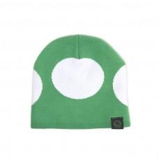Nintendo Super Mario Bros Green Mushroom Cuffless Beanie Green/White