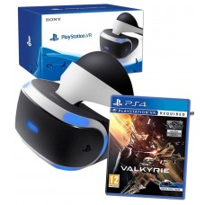 Sony PlayStation VR Headset Virtual Reality with Eve Valkyrie PSVR Game Bundle