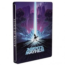 Agents of Mayhem - Day One Edition Steelbook Edition Xbox One Game
