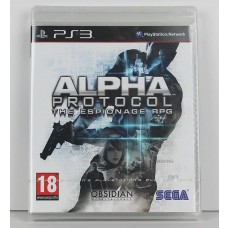 Alpha Protocol PS3 Playstation 3 Game