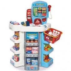 Casdon Self Service Supermarket Cash Register Food Till - Shopping Role Play Toy