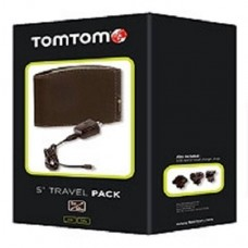TomTom  5inch Sat Nav Travel Pack Stylish case, Home charger and Travel Adaptor