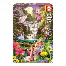 Educa Borras Waterfall Fairies Jigsaw Puzzle 500-Piece (15515)