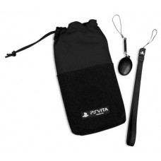 Officially Licensed 4Gamers Clean 'n' Protect Kit - Black (PlayStation Vita)