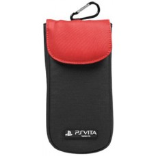 Officially Licensed 4Gamers Clean 'n' Protect Pouch - Red (PlayStation Vita)