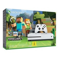 Xbox One S 500GB Console with Minecraft Game Bundle
