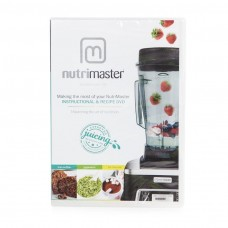 Nutri Master DVD with instructions and recipes for NutriMaster Blender