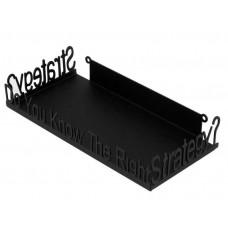 Gaming Strategy Guide Books Holder - Metal Floating Shelf - Black