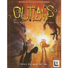 Outlaws - LucasArts PC Game