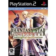 Phantasy Star Universe Ambition of The Illuminus PS2 Game