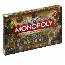 Warcraft World Of Warcraft Monopoly Family Board Game 2 to 6 Players