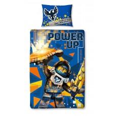 Lego Nexo Knights Power Single Duvet Set - Large Print Design