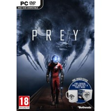 Prey PC Video Game with FREE MUG + Cosmonaut Shotgun Pre-Order DLC
