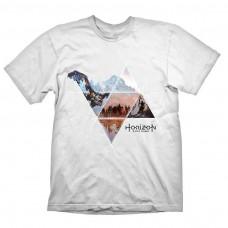 Horizon Zero Dawn Vast Land T-shirt L Size - White(GE6127L)