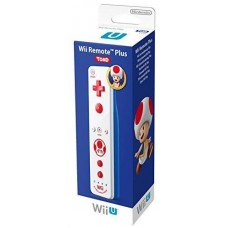 Official Nintendo Wii U Remote Plus Controller Toad - White