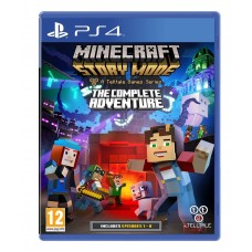Minecraft Story Mode Complete Adventure PS4
