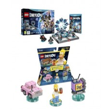 LEGO Dimensions Starter Pack and The Simpsons Level Set Bundle Nintendo Wii U