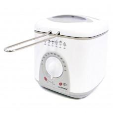 Lloytron KitchenPerfected 1.0Litre Compact Deep Fryer 950W - White (E6010WI)
