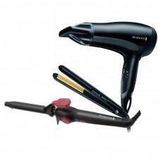 Remington Haircare 3 Piece Gift Pack Black (Model No. CI5219GPR)