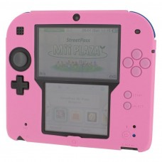ZedLabz Silicone Protective Cover for Nintendo 2DS - Pink
