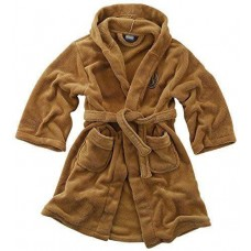 Star Wars Jedi Bath Robe Brown Kid - Size Medium