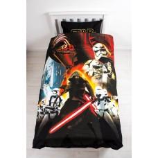 Star Wars Episode 7 Awaken Single Duvet Cover and Pillowcase Set - Multi-Colour