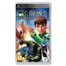 Ben 10 Ultimate Alien Cosmic Destruction Sony PSP Game