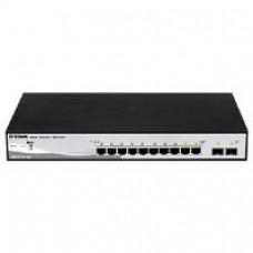 D-Link DGS-1210-10P 10-Port Web Smart Switch with PoE