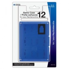 Hori 12 Card Case Blue PS Vita