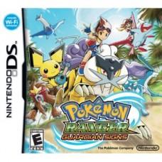Pokemon Ranger Guardian Signs Nintendo DS