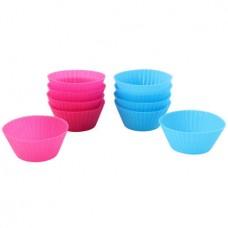 Anzo SA0182CA 10pc Silicone Muffin Mould