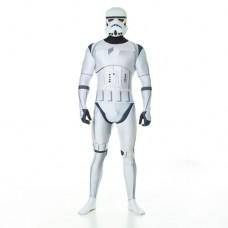 Star Wars StormTrooper Adult Unisex Zapper Cosplay Costume Digital Morphsuit - Medium - Multi-Colour (MLZSTM-M)