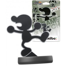 Amiibo Smash Mr Game and Watch Character Nintendo Wii U 3DS