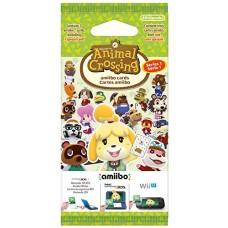 Animal Crossing Happy Home Designer Amiibo 3 Card Pack Nintendo 3DS Wii U