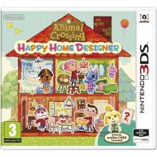 Animal Crossing Happy Home Designer + Special Amiibo Card Nintendo 3DS