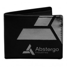 ASSASSINS CREED Unity Bi-fold Wallet with Abstergo Industries Logo Black (MW22IRACU)
